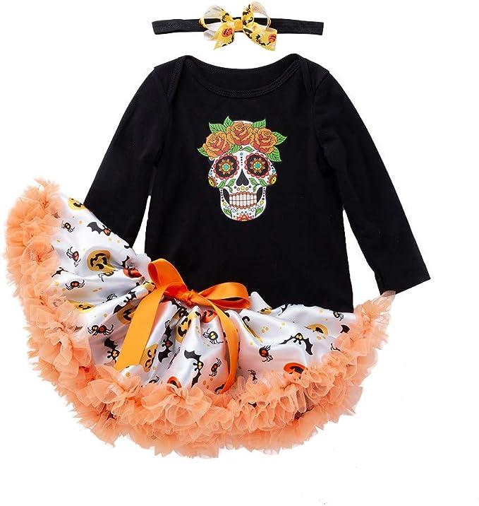 Tefamore Vestidos Bebe Niña, Ropa Bebe Niña Disfraz Halloween ...