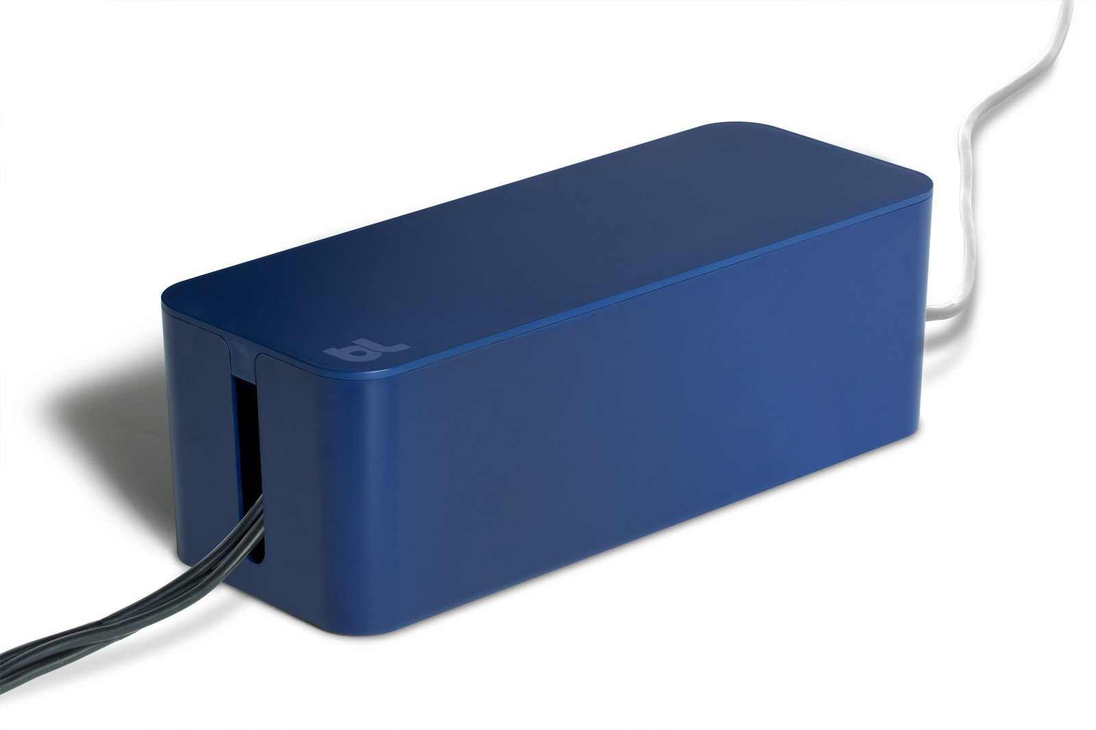 Bluelounge CableBox, Cable Management System, Moonlight Blue