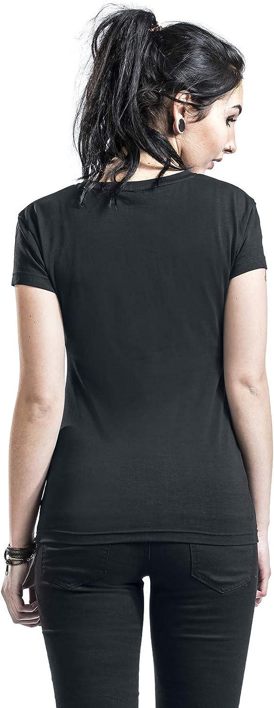 Marilyn Manson Specks Women T-Shirt Black, Regular Black
