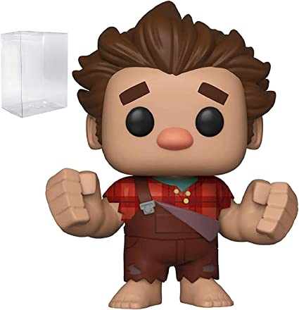 FREE POP PROTECTOR FUNKO POP WRECK IT RALPH 2 RALPH WITH PIE EXCLUSIVE