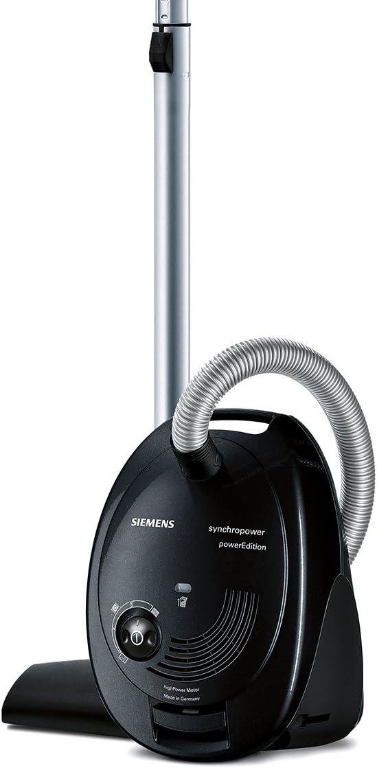 Siemens SynchRoPower - Aspiradora, 2400 W, eficiencia energética B, color negro: Amazon.es: Hogar