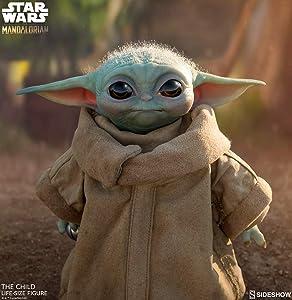 Sideshow Star Wars The Mandalorian The Child Life-Size Figure