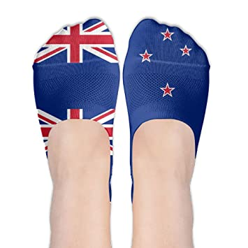 9eba98b19d Amazon.com  New Zealand Flag Quotes Womens Non Slip Athletic ...