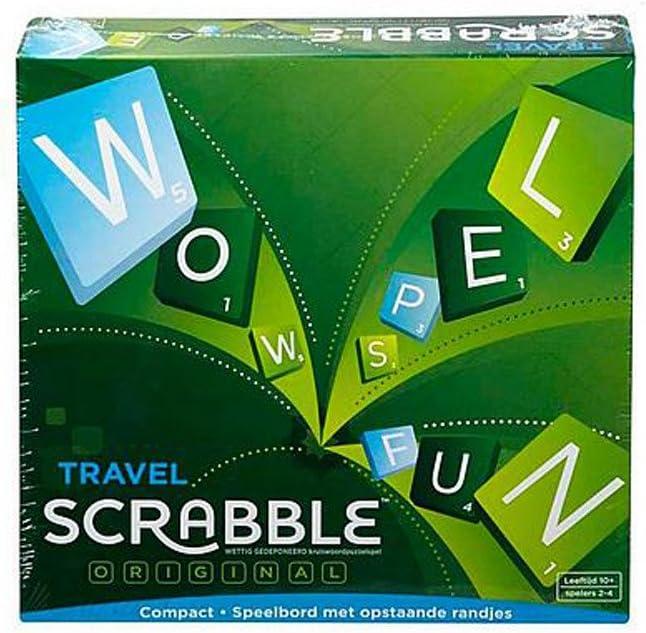 Mattel cjt16 Scrabble Juego de Viaje.: Amazon.es: Juguetes y juegos