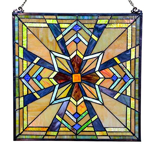 Hang Stained Glass Window (18