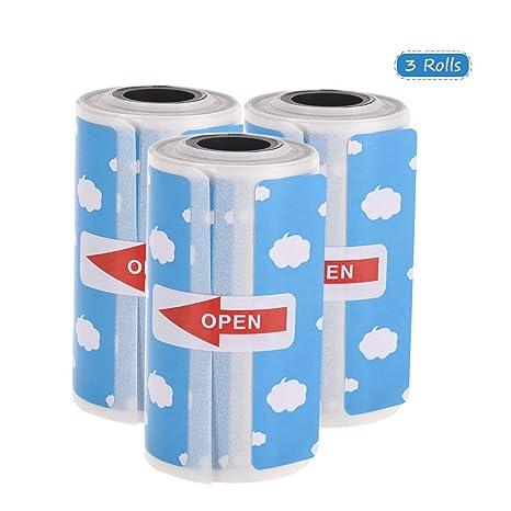 Amazon.com: Walmeck - Rollo de etiquetas térmicas para ...