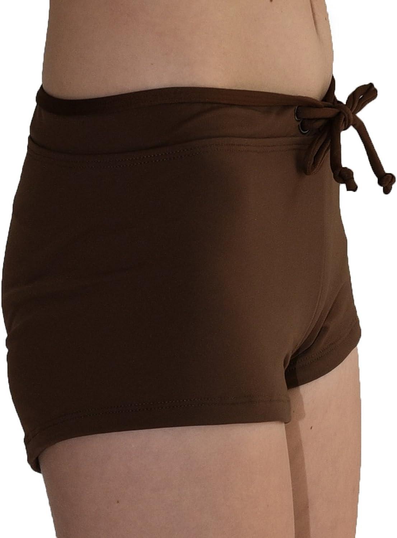 Swim Board Shorts Rash Gaurd Private Island Women Front Tied Plus Size UPF 50