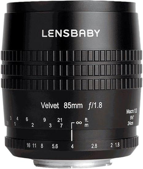 Lensbaby Velvet 85 Nikon F Porträt Und Makro Objektiv Kamera