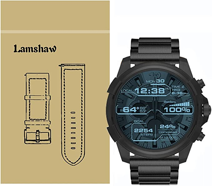 Para Diesel relojes banda, lamshaw acero inoxidable Metal correas ...
