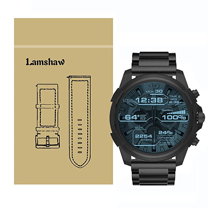 Para Diesel relojes banda, lamshaw acero inoxidable Metal ...