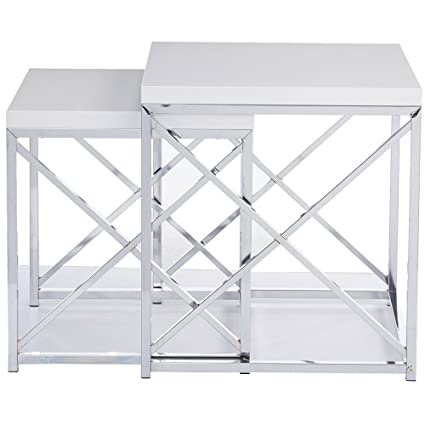 Simplistic End Table Set Of 2 Simplistic End Table Set Of 2 Contemporary  Multi Functional Accent