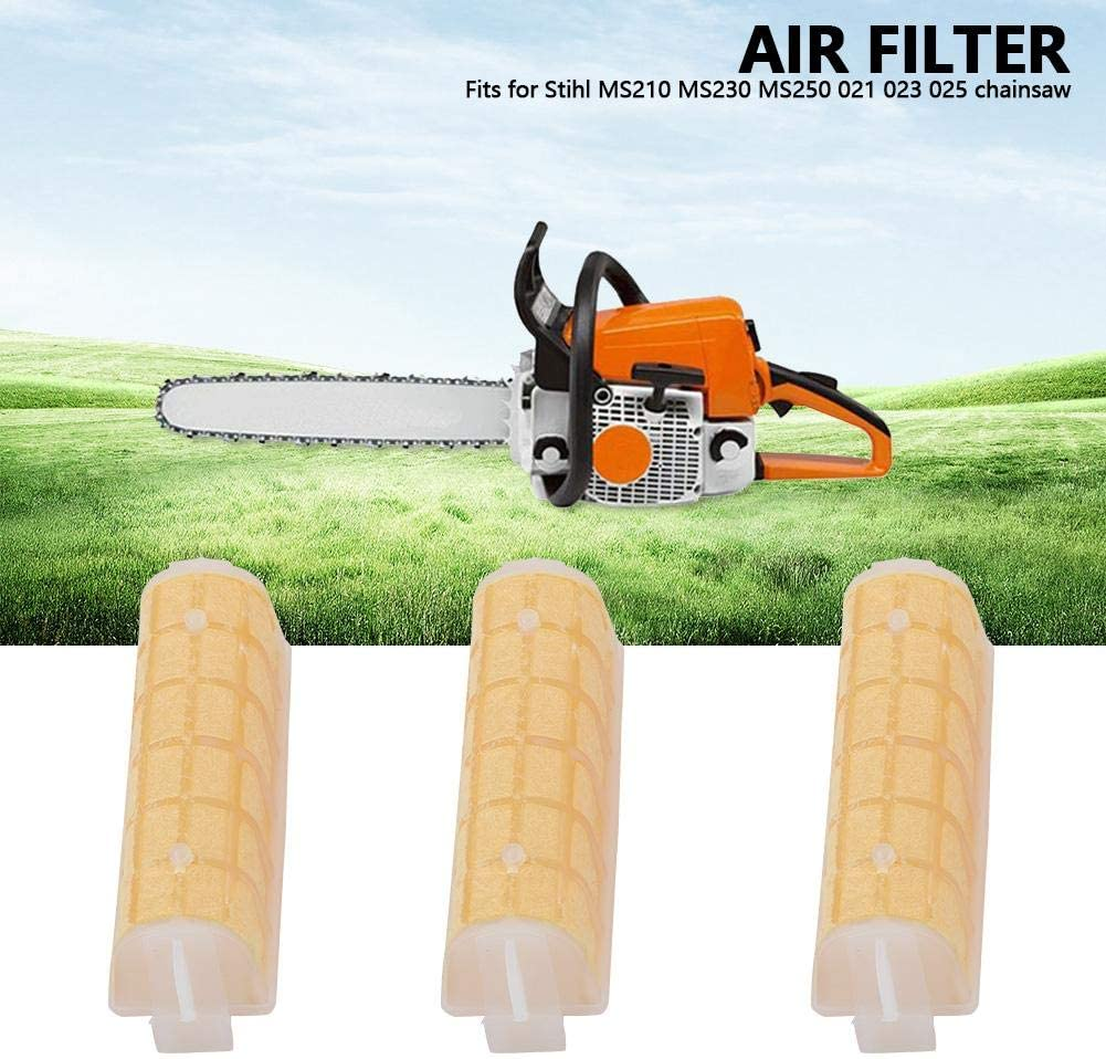 5pcs Air Filter for Stihl MS210 MS230 MS250 021 023 025 Chainsaw Accessories Parts Garden Tools