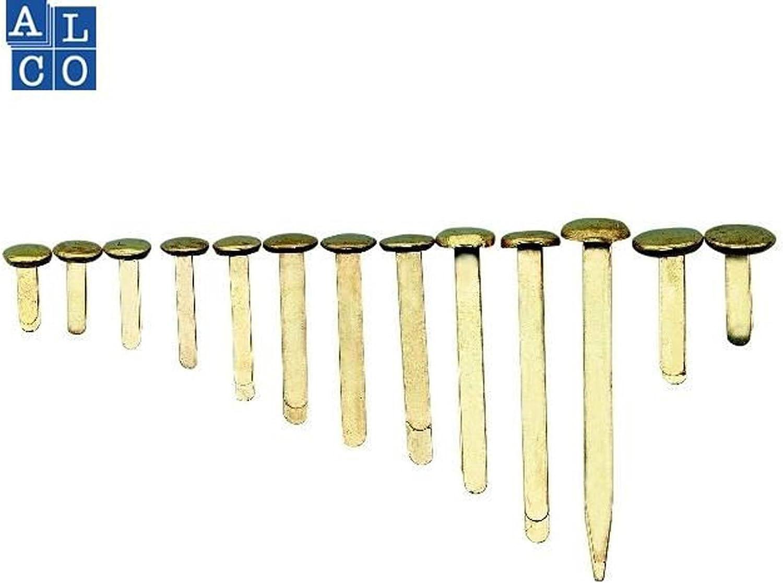 ALCO 311 Musterbeutelklammern 100 St/ück 12 mm Rundkopf