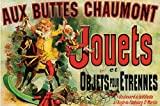 Aux Buttes Chaumont Jouets Vintage Advertising Poster Poster 61x91.5cm