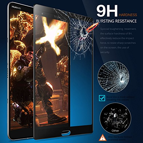Tempered-Glass Scra... IVSO Screen Protector for Huawei MediaPad M5 8.4 Tablet