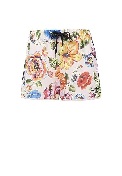d0e61cd1262 Amazon.com: adidas Originals Womens Floralita Shorts (Medium, Multicolor):  Clothing