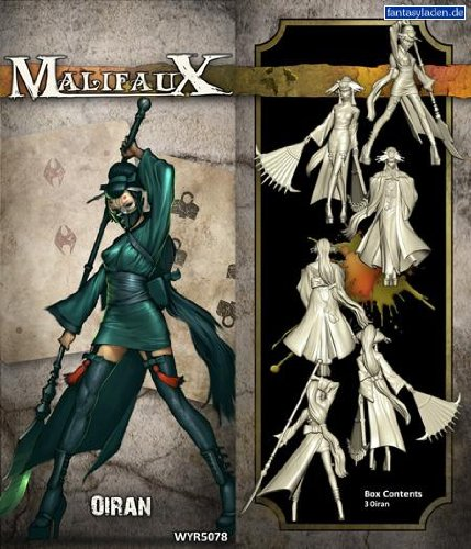 Wyrd Miniatures Malifaux Ten Thunders Oiran Model Kit (2 Pack)