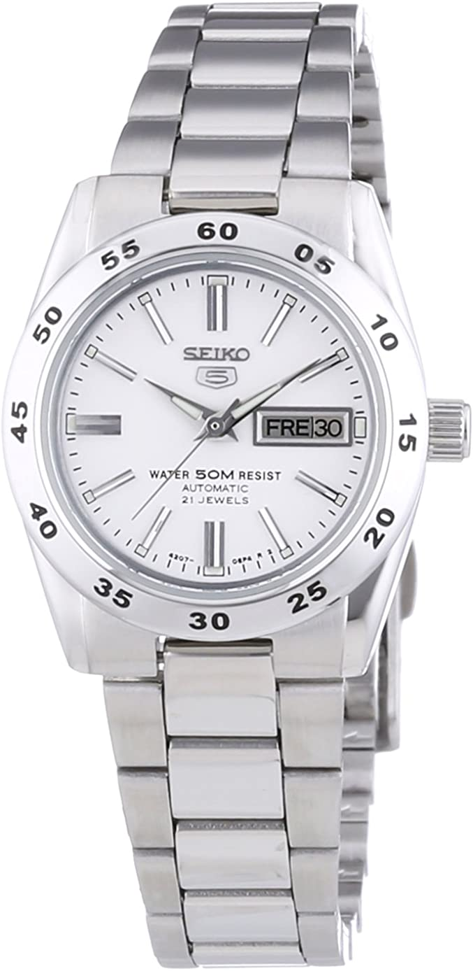 Seiko Reloj Analógico Automático para Mujer con Correa de Acero Inoxidable – SYMG35K1