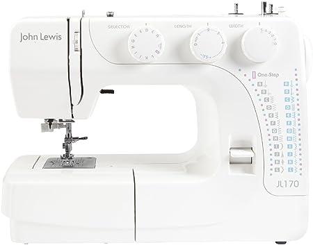 John Lewis JL40 Sewing Machine White Amazoncouk Kitchen Home Stunning John Lewis Sewing Machine Amazon