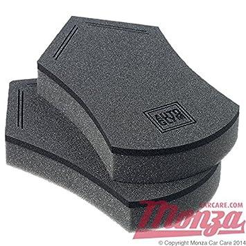 Autoglym Perfect Polish Foam Car Wax Sealant Applicator Pads Twin Pack