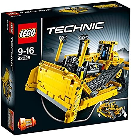 LEGO Technic Crawler Dozer Bulldozer Building/Construction Toy 42028