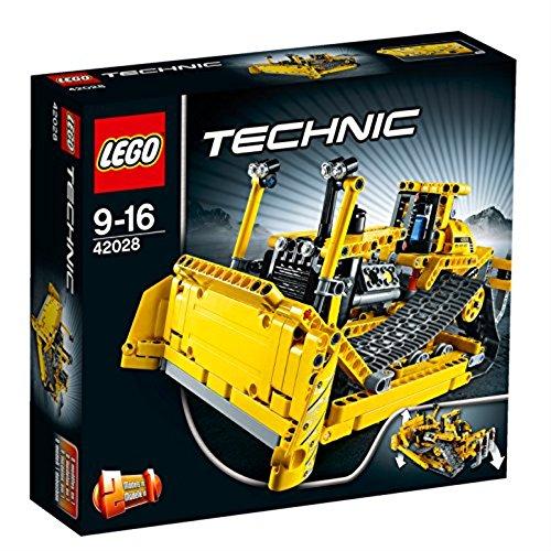 Technic Excavator - LEGO Technic Crawler Dozer Bulldozer Building/Construction Toy 42028