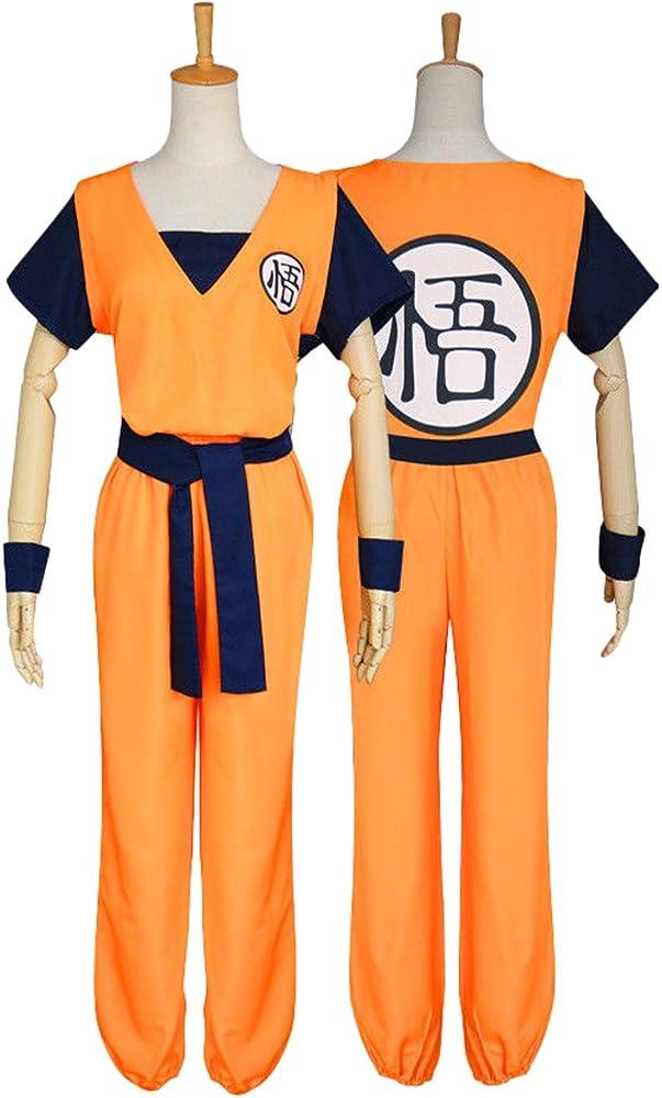 Es Unico Disfraz de Goku de Dragon Ball para Cosplay - Naranja ...