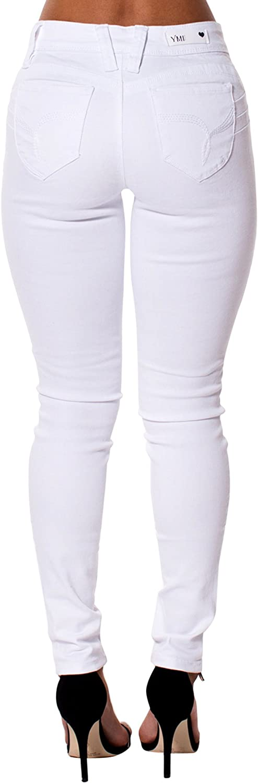 YMI Womens Midrise Betta Butt Skinny Jeans