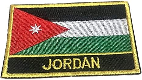 CONGO Flag Iron-On Patch Tactical Morale Emblem Black Border