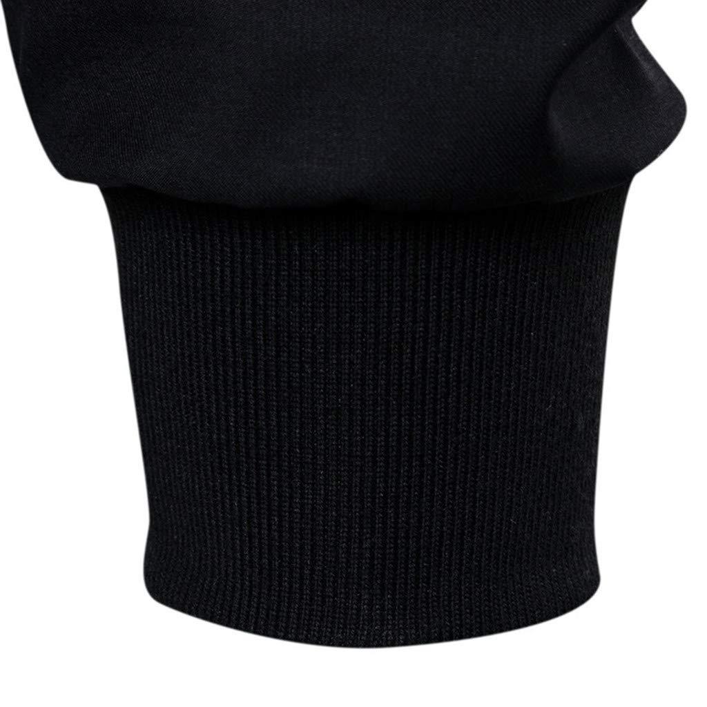Simayixx Men's Jacket Men's Mountain Waterproof Ski Coats Windproof Rain Hoodie Sweatshirts Workout Zipper Tops Shirts 2XL Black by Simayixx (Image #5)