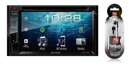 amazon com kenwood 6 2 double din touchscreen dvd cd bluetooth usb rh amazon com