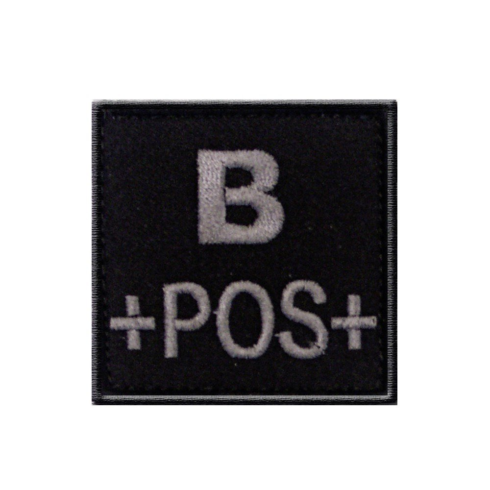 Groupe sanguin B positif noir T.O.E. Concept 1309
