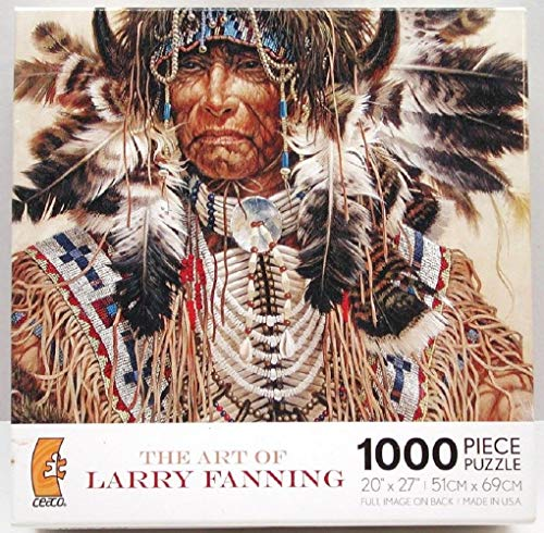 The Art of Larry Fanning Medicine Pipe 1000 Piece Jigsaw Puzzle 2008 Hard to Find