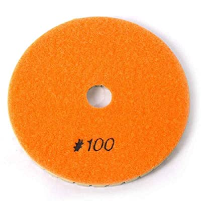 "Specialty Diamond BRTW5100 100 Grit 6mm 5"" Premium Wet Polishing Pad: Home Improvement"