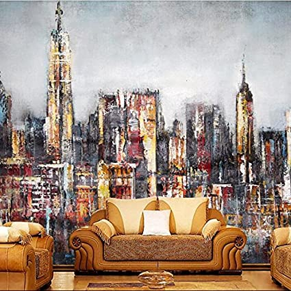 Mbwlkj 3d Hd Free Desktop Wallpaper Modern City Murals