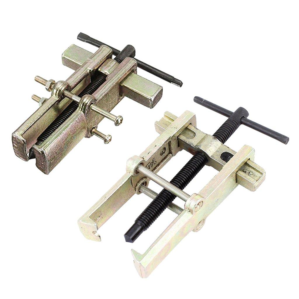 Sharplace 2pcs Kit d'Extracteur Moyeu Roulement Suppression Démontage à Deux Mâchoires 2 Jambes - 4'' 6''