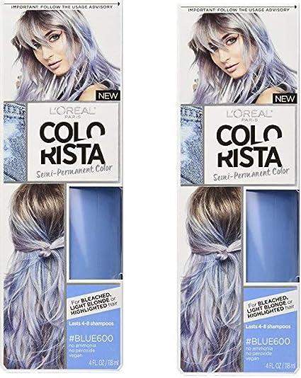 LOréal Paris Colorista Color de cabello semipermanente para ...