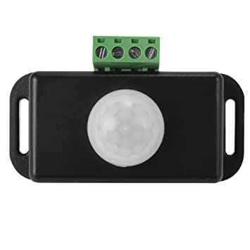 XCSOURCE® 12V 24V PIR Body Sensor LED Interruptor Detector de Movimiento Temporizador Función PIR-