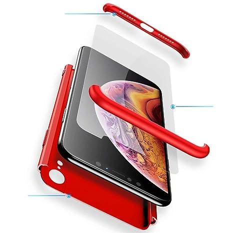 coque iphone xr avec vitre de protection