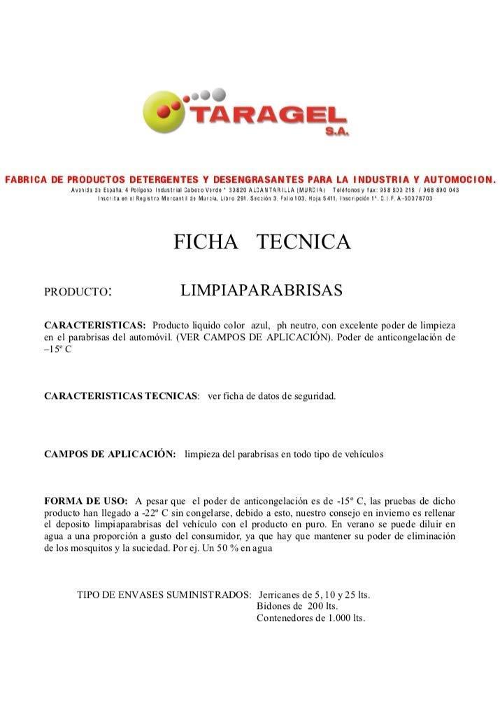LIMPIAPARABRISAS quita-Insectos y suciedad -10 Grados (5Litros ...