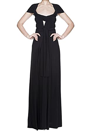 beab94dfd4ce Women Transformer Infinity Evening Dress Multi-Way Wrap Convertible Halter  Maxi Floor Long Dress High
