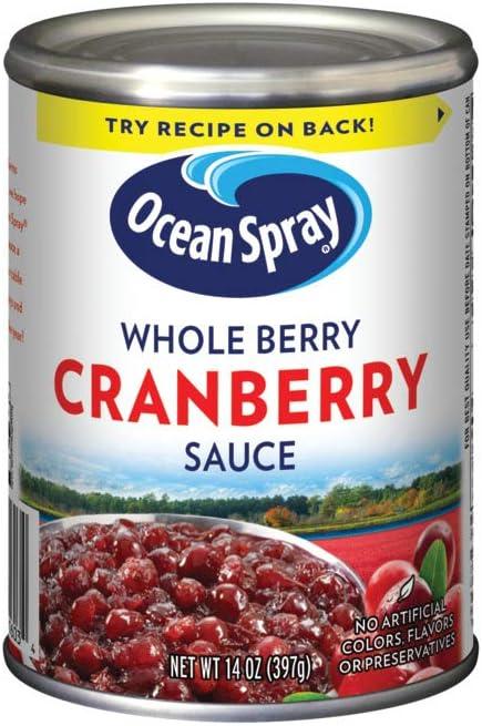 Ocean Spray Whole Berry Cranberry Sauce - 397 gr