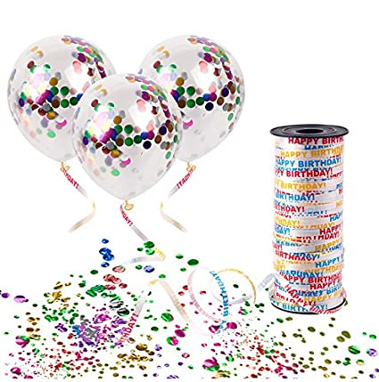 Party Propz Party Ribbons for Decoration Happy Birthday Ribbon