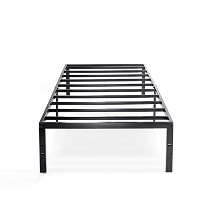 Amazon.com: Best Price Mattress Twin Bed Frame - 14 Inch Metal ...