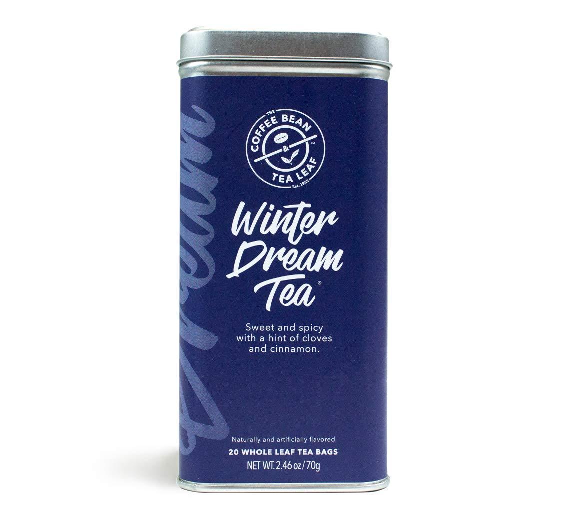 The Coffee Bean & Tea Leaf Winter Dream, Black Tea, Whole Leaf Tea Bags, 20 Count