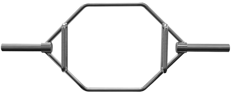 Verschl/üssen 50//51 mm I f/ür Kniebeugen Kreuz und Schulterheben Bad Company Olympia Hexagon Hantelstange inkl