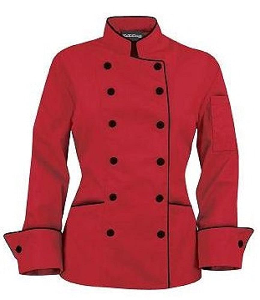 Long Sleeves Stylish Women's Ladies Chef's Coat Jackets …