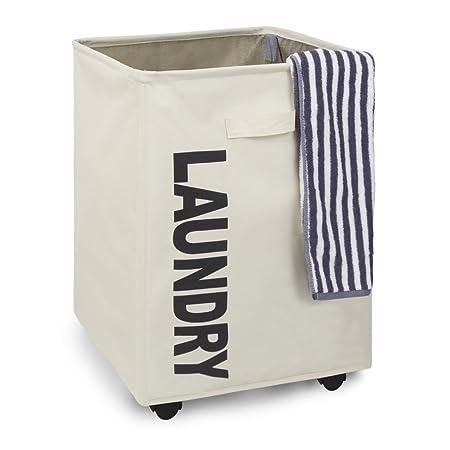 Gris Claro Xiangmall Cesto de la Ropa Sucia Plegable Grande Bolsa Ropa Sucia con Asa Tela Oxford Impermeable Laundry Basket de Ba/ño