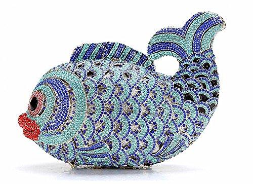 bleu femme petit Pochette Chief Chirrupy pour xXvOaWq