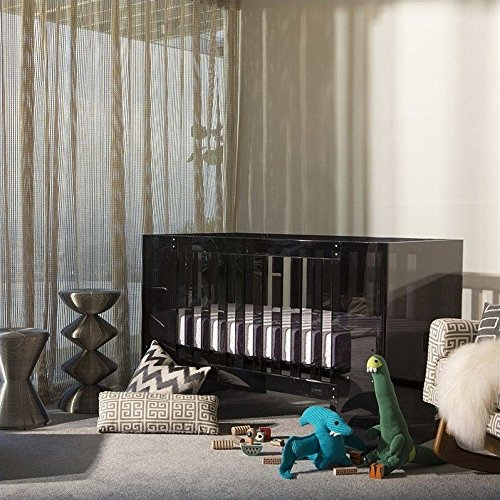 Nursery Works Vetro Crib- Shadow Acrylic